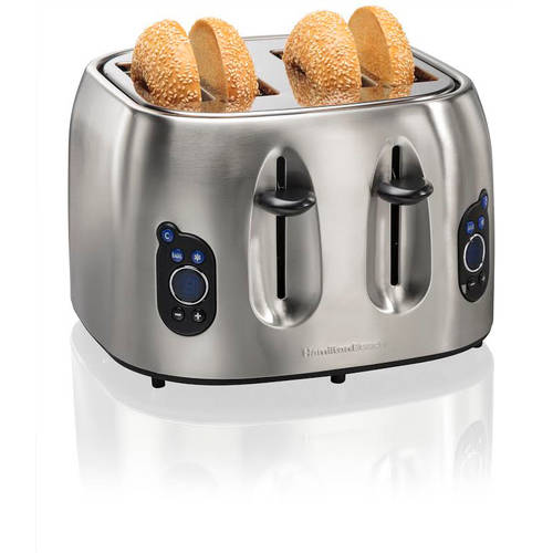Hamilton Beach Digital Toaster, Brushed Stainless