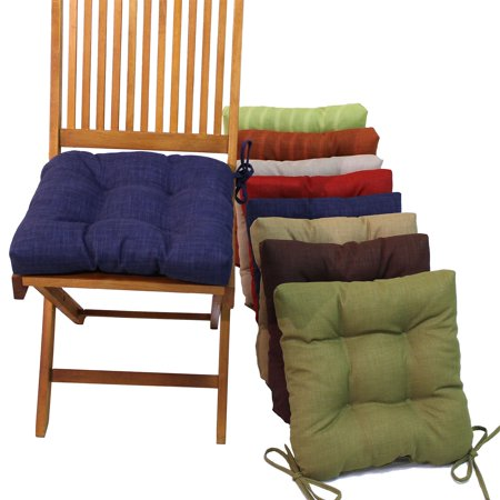 Square Outdoor Chair Cushions With Ties Set Of 4