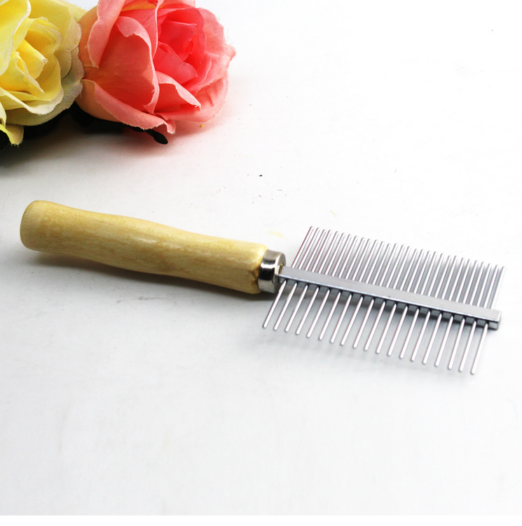 Multi-use Stainless Steel Dog Cat Combs Hair Rake Comb Pet Grooming Hairbrush