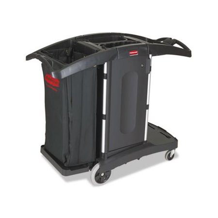 Compact Folding Housekeeping Cart RCP9T76