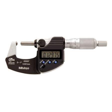 Mitutoyo Micrometer Set - Mitutoyo Round Anvil/Spindle Micrometer, 395-371-30