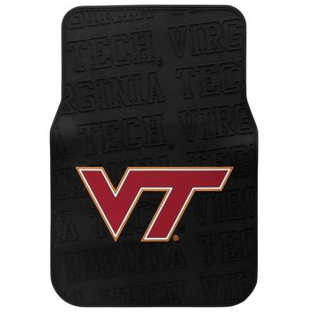 Virginia Tech Hokies Two Piece Front Car Mats - No - Virginia Tech Hokies Tailgater Mat