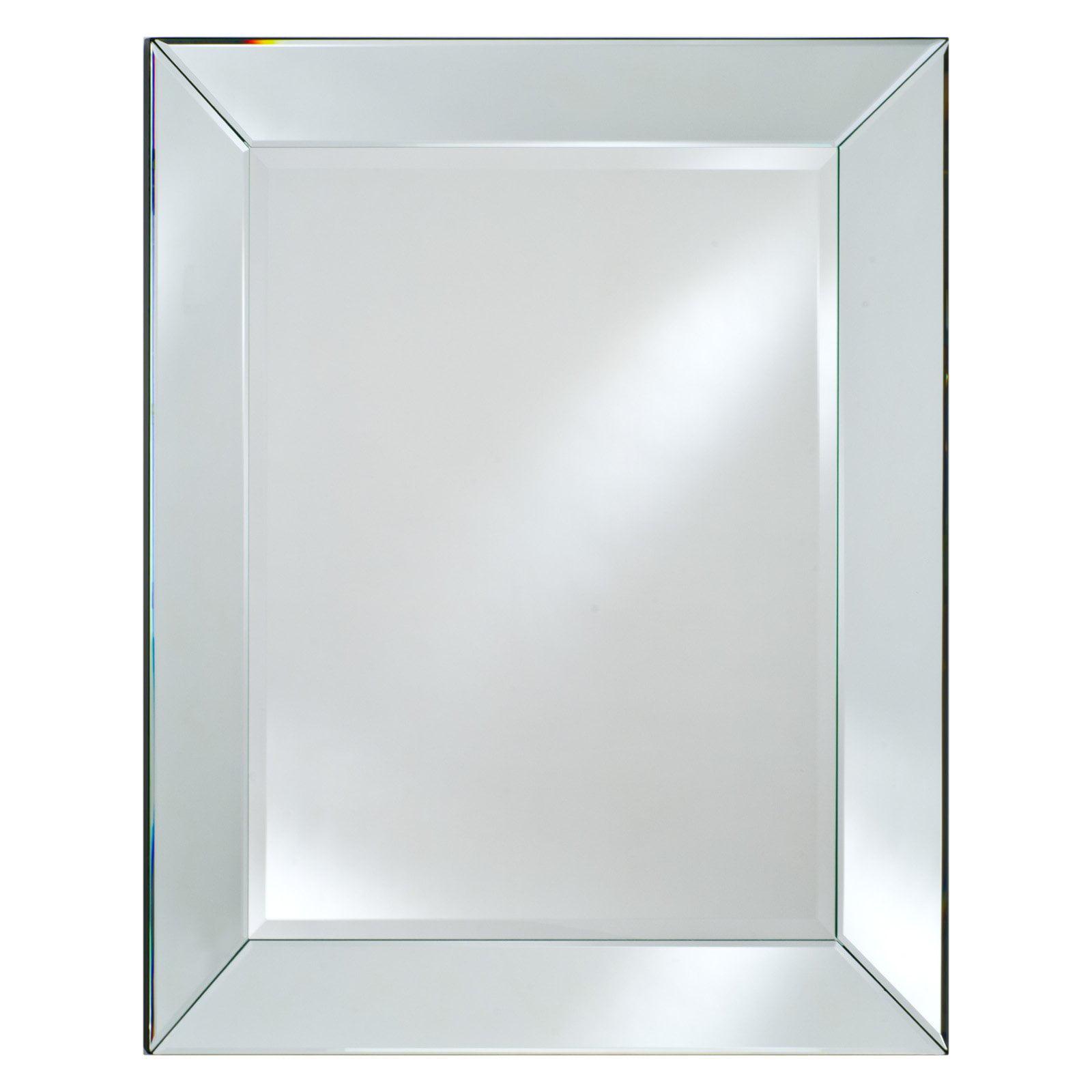 Radiance Venetian Mirrored Frame Mirror - Walmart.com