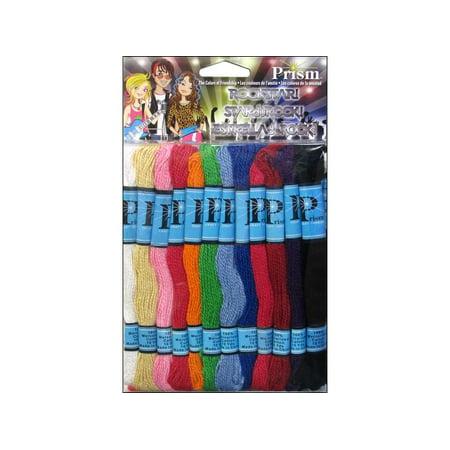 DMC Prism Craft Thread Pack, 8 Meters, 36pk