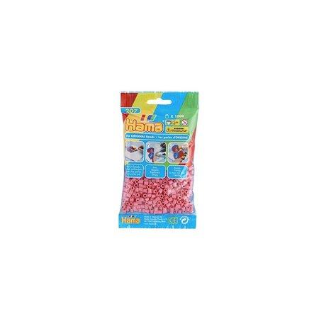 Hama Beads Pink 1000 Midi Beads - Hama Bead Halloween Designs