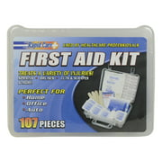 Rapid Care OSHA/ANSI Compliant 107 Piece First Aid Emergency Kit