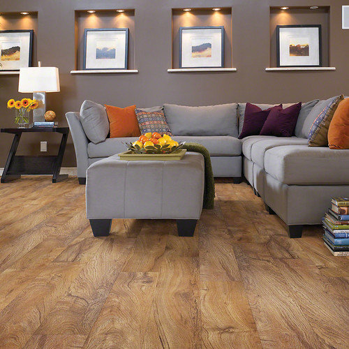 Shaw Industries Inc. Sumter Plus Embossed Vinyl Plank Flooring (34.98 Square Feet)