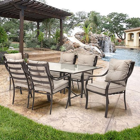 Hanover Lavallette 7-Piece Outdoor Dining Set - Hanover Lavallette 7-Piece Outdoor Dining Set - Walmart.com