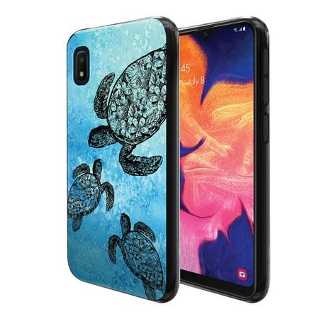 FINCIBO Soft TPU Black Case Slim Cover for Samsung Galaxy A10e A102U 5.83