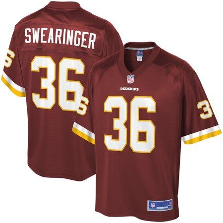 24c9fd986 Men s Washington Redskins D.J. Swearinger NFL Pro Line Burgundy Team Color  Player Jersey - Walmart.com