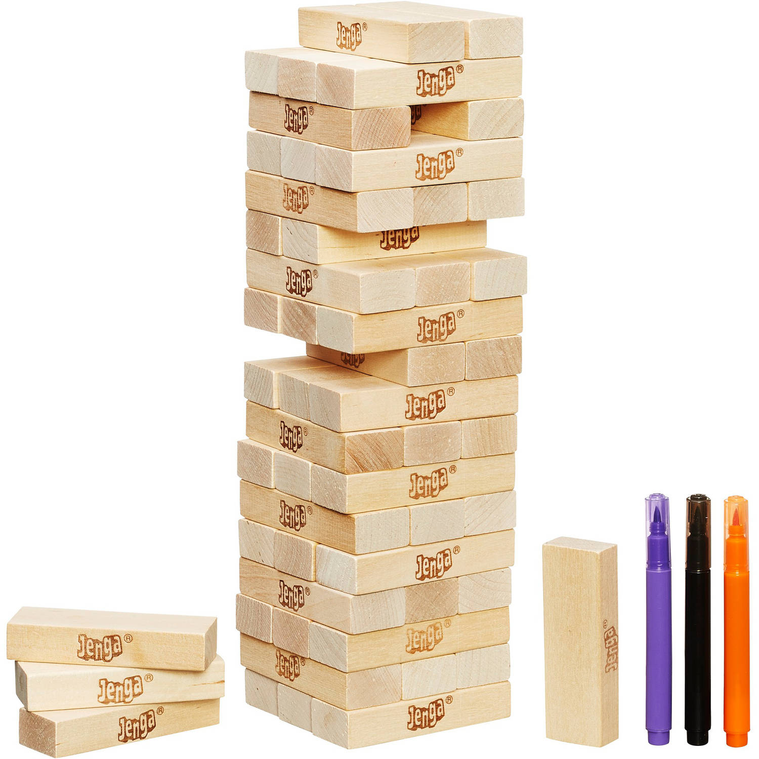jenga rules and instructions