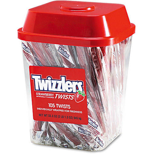 Twizzlers Strawberry Licorice, 2 lb
