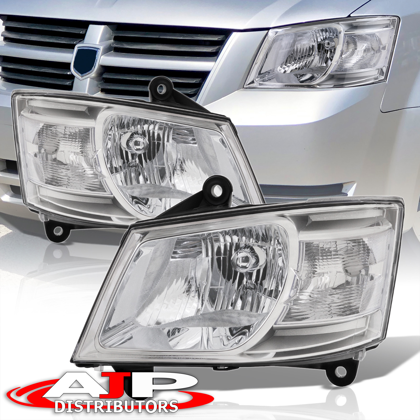 Headlight Headlamp Assembly Pair Set Both Driver Passenger Side Left+Right LH+RH