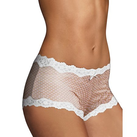 Maidenform Womens Modal Cheeky Hipster With Lace Panty