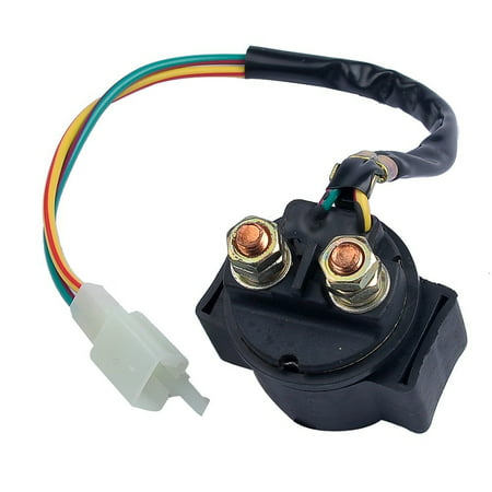 Astounding Solenoid For Pocket Bike Gy6 Moped Starter Relay 49Cc 50Cc 70Cc 90Cc Wiring 101 Akebretraxxcnl