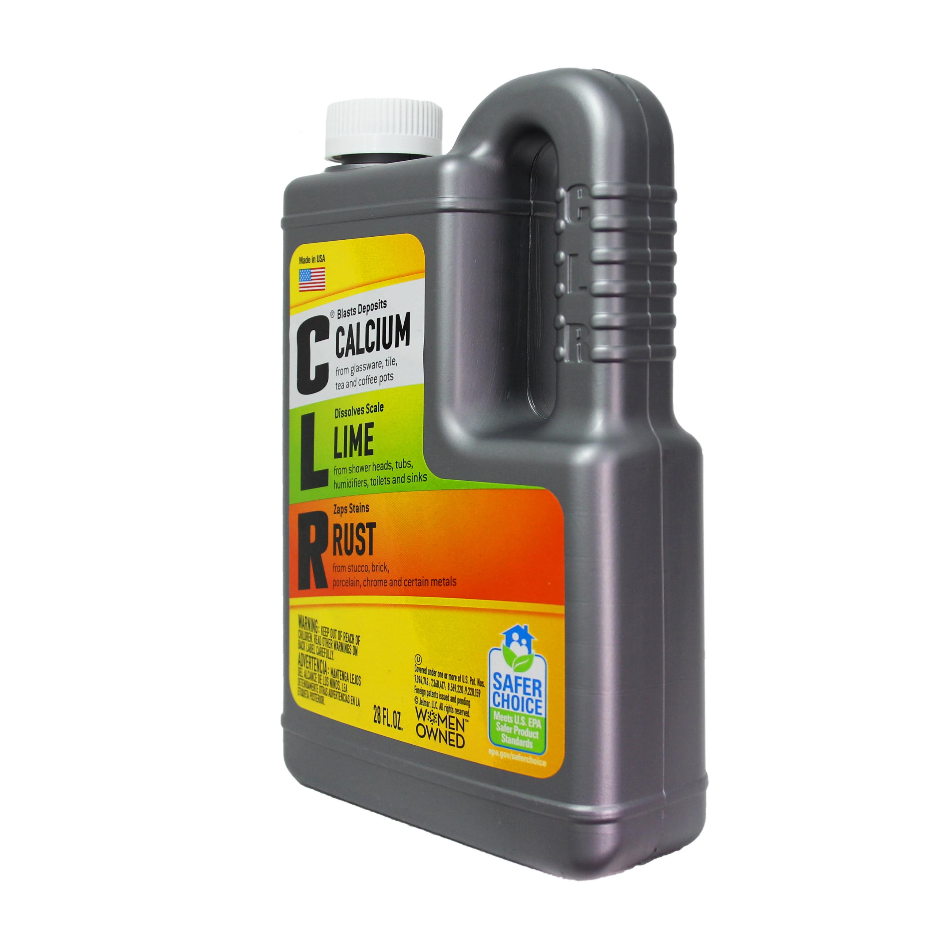CLR Calcium, Lime & Rust Remover, Biodegradable, 28 Oz Bottle ...