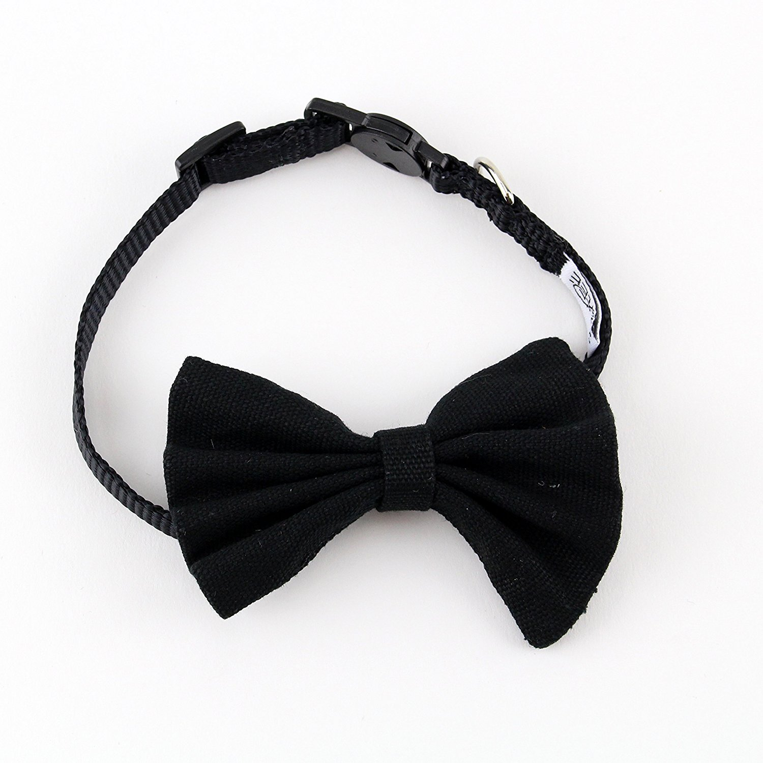 Bow Tie Cat Collar Canvas by Midlee