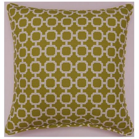 Fox Hill Trading Hockley Mandarin 26-inch Outdoor Pillow