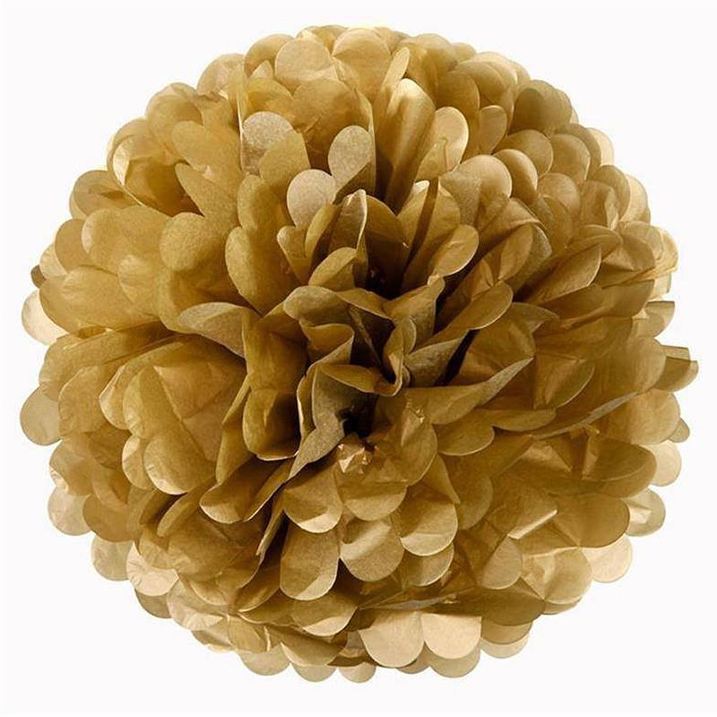 Efavormart 12 PCS Paper Tissue Wedding Birthday Party Banquet Event Festival Paper Flower Pom Pom 14 inch