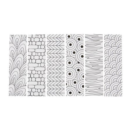 Fun Express - Cyo Cool Doodle Bookmarks - Craft Kits - CYO - Paper - Stationery - 12 Pieces - Printable Halloween Coloring Bookmarks