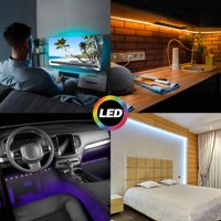 "Monster Illumination Sound-Light LED 65"" RGB Multicolor Changing Mood and Music Mode Light Strip"