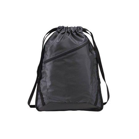Gravity Travels Zip-It Cinch Pack Bag - Black - image 1 of 1