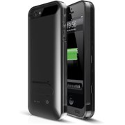 Sabrent Apple iPhone 5/5S Rechargeable 2400mAh Extended Battery Case - PB-IPH5
