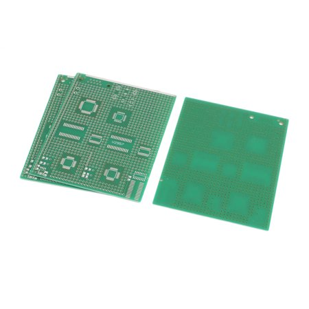 Pcb Patch Panel (3 Pcs Single Sided Multi-package Patch PCB Print Circuit Board 9 x 11CM Green )