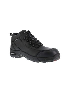 buy online 12a61 c9b86 Product Image Reebok Work Mens Tiahawk Safety Toe Work Boots Leather  Composite Toe Lace Up ..