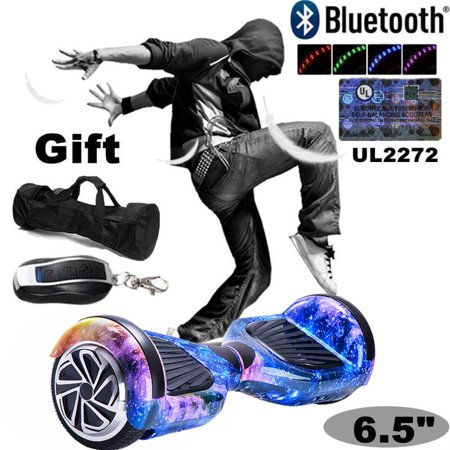 Leqi Ul 2272 Certified Electric Skate Board Two Wheels Smart Self Balancing Scooter