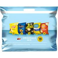 Frito-Lay Originals Mix Variety Pack, 18 Count