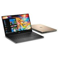 REFURBISHED Dell XPS 13 9350 GOLD 13.3-Inch QHD+ Touchscreen Laptop 6th Generation Intel Core i7, 8 GB RAM, 256 GB SSD, Win 10 Pro