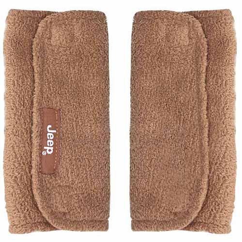 Jeep Strap Covers, Brown