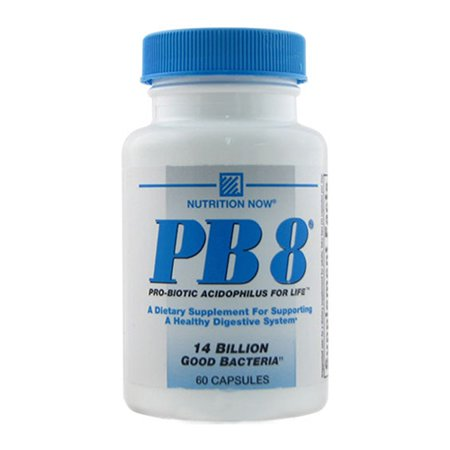 Nutrition Now Pb 8 Pro-biotiques acidophilus 500 mg - 60 Ea