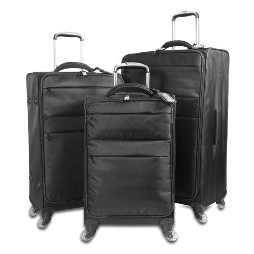 J World Kist Lightweight 3 Piece Spinner Luggage Set