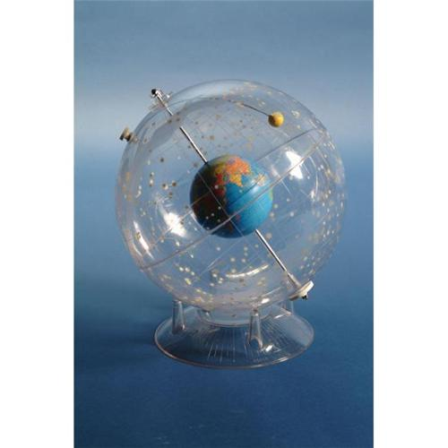 "American Educational 310 Celestial Transparent 12"" Globe with Earth Inside"
