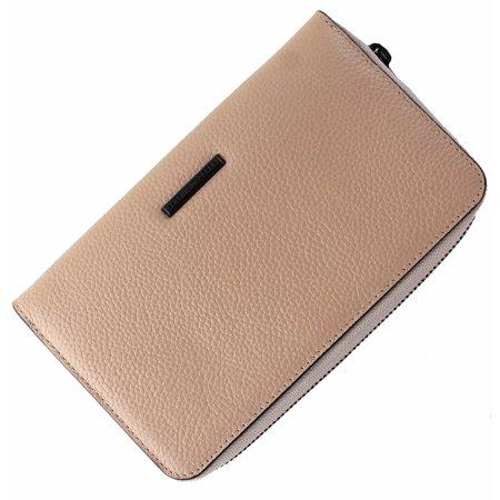 Regan Universal Smart Phone Leather Wristlet Wallet - Tan ()