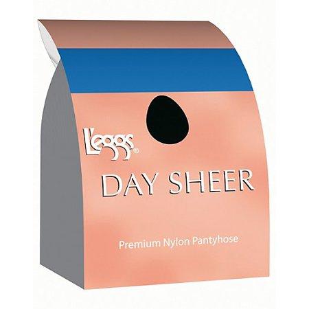 L'eggs Day Sheer Regular, Sheer Toe Pantyhose 4-Pack Open Toe Sheer Pantyhose