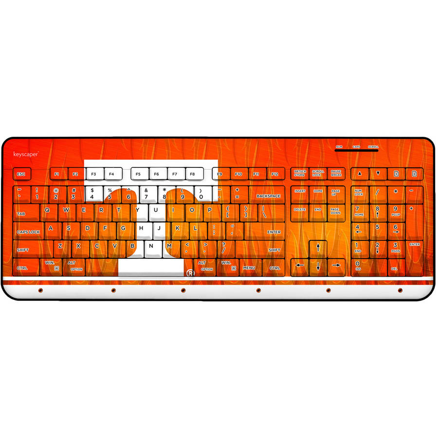 Tennessee Volunteers Wireless USB Keyboard