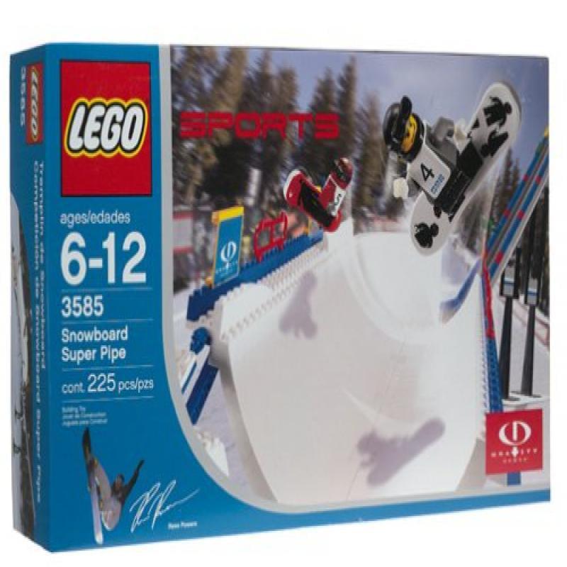 Lego Snowboard Super Pipe