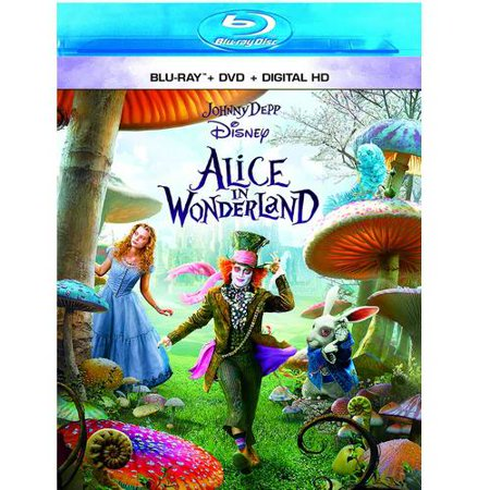 Alice In Wonderland (2010) (Blu-ray + DVD + Digital HD)