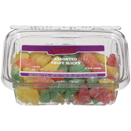Sweet's Assorted Fruit Slices, 17 oz