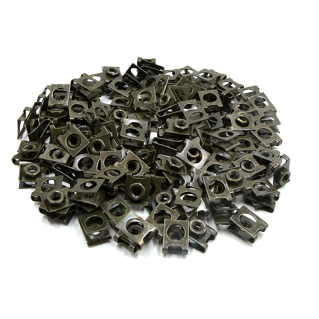 120pcs 5mm Dark Green Metal Motorcycle Car Rivets Door Panel Screw Fastener Clip