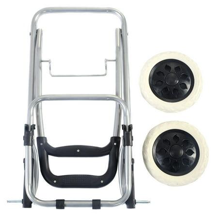 Costway Light Weight Wheeled Shopping Trolley Push Cart Bag Large Capacity - image 1 of 9