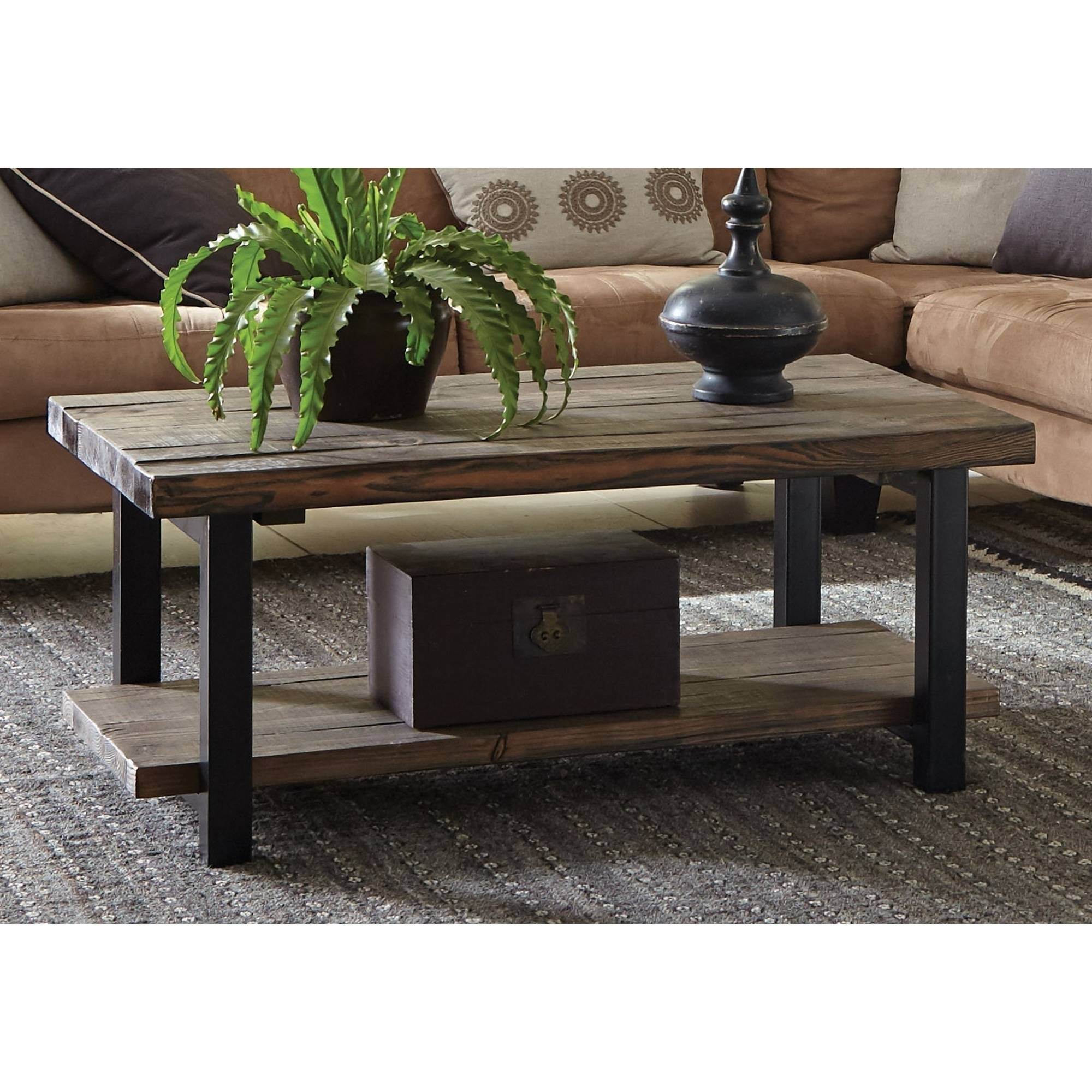 Pomona Coffee Table, Rustic Natural