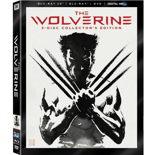 The Wolverine (3D Blu-ray + Blu-ray + DVD + Digital HD) (With INSTAWATCH) (Widescreen)