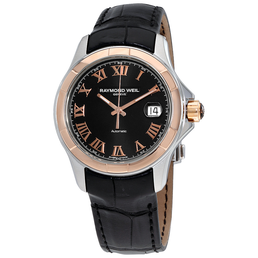 Raymond Weil Parsifal Rose Gold PVD Mens Watch 2970-sc5-0...