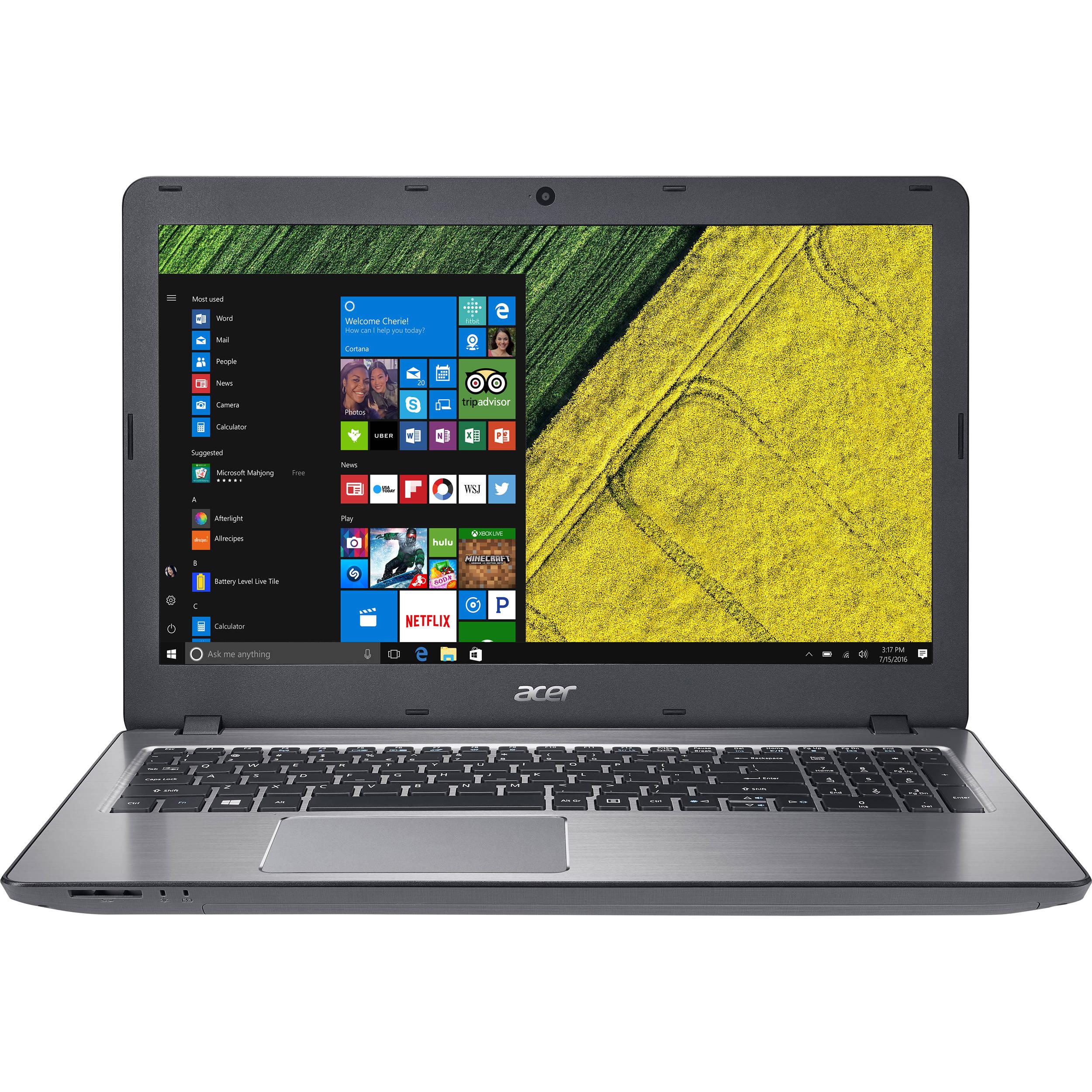 """Acer 15.6"""" Aspire F5-573G-74MV Notebook NX.GD9AA.002"""
