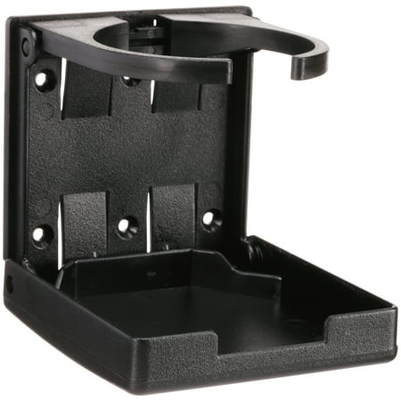Camco Adjustable Drink Holder- Can Hold Mugs, Large Drinks and Most Bottle or Can Sizes, Make Great Extra Cupholders for Vehicles- Black (44044) - Black Drinks For Halloween