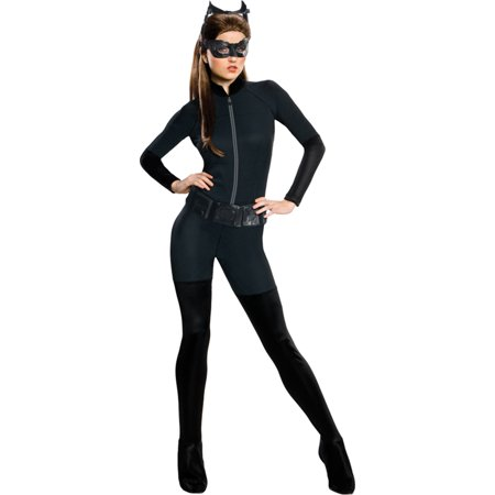 Dark Knight Rises Catwoman Goggles (Batman The Dark Knight Rises Womens Adult Catwoman Halloween Costume, Black, XS, Style)